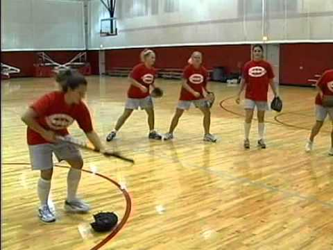 Indoor Softball Hitting Drills